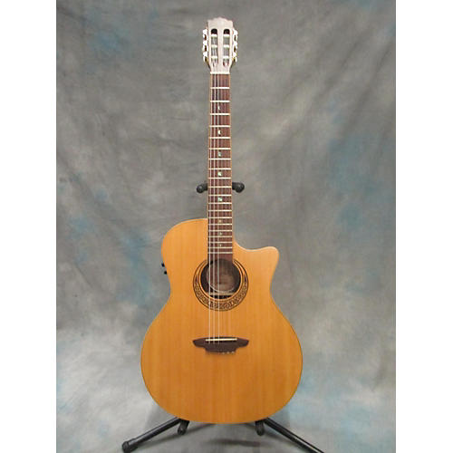 Luna Guitars Muse Folk Series Classical Acoustic Electric Guitar-thumbnail