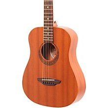 Luna Guitars Muse Safari Series Mahogany 3/4 Dreadnought Travel Acoustic Guitar