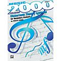 Alfred Music 2000: Classroom Theory Lessons for Secondary Students Volume II Student Workbook thumbnail
