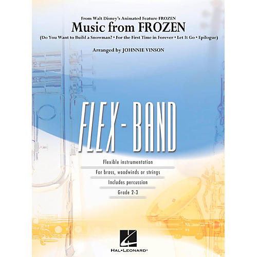 Hal Leonard Music From Frozen - FlexBand Series Level 2-thumbnail
