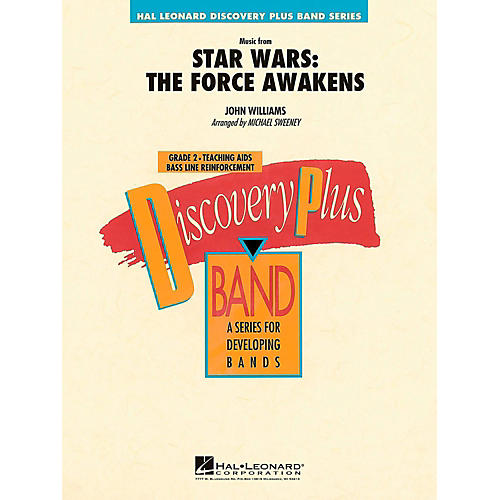 Hal Leonard Music From Star Wars: The Force Awakens Concert Band Level 2.5 by Michael Sweeney-thumbnail