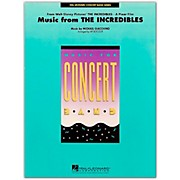 Hal Leonard Music From The Incredibles - Concert Band Level 4 - 5