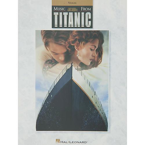 Hal Leonard Music From Titanic for Violin-thumbnail