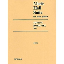 Novello Music Hall Suite for Brass Quintet Music Sales America Series by Joseph Horovitz