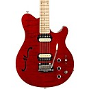 Music Man Axis Super Sport HH Hollowbody Electric Guitar with Tremolo/Piezo Bridge (336-50-11-00)