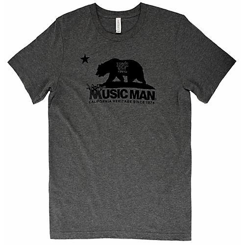 Ernie Ball Music Man Music Man Bear T-Shirt Large Heather Gray