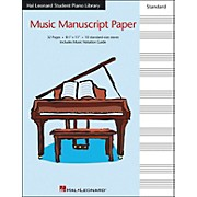 Hal Leonard Music Manuscript Paper Standard Size Staves 8.5 X 11 Hal Leonard Student Piano Library