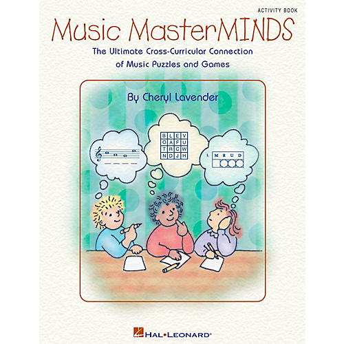 Hal Leonard Music Masterminds - Ultimate Collection of Puzzles and Games Book-thumbnail