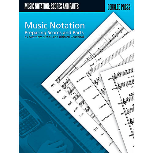 Berklee Press Music Notation - Preparing Scores And Parts-thumbnail