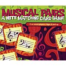 Music Sales Musical Pairs - A Note Matching Card Game