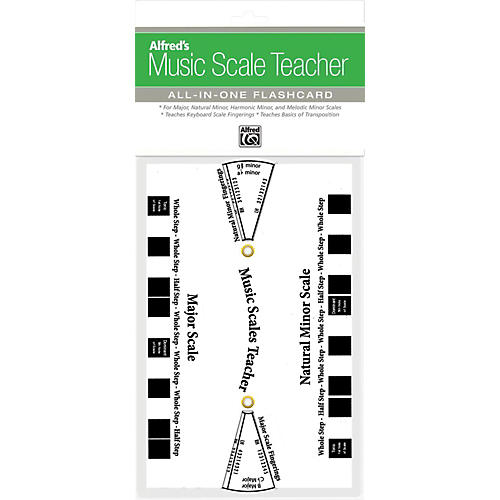 Alfred Music Scale Teacher: All-In-One Flashcard White-thumbnail