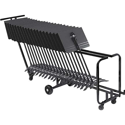 Manhasset Music Stand Storage Cart (Holds 25)-thumbnail