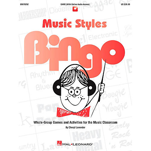 Hal Leonard Music Styles Bingo Games And Activities Game/CD-thumbnail