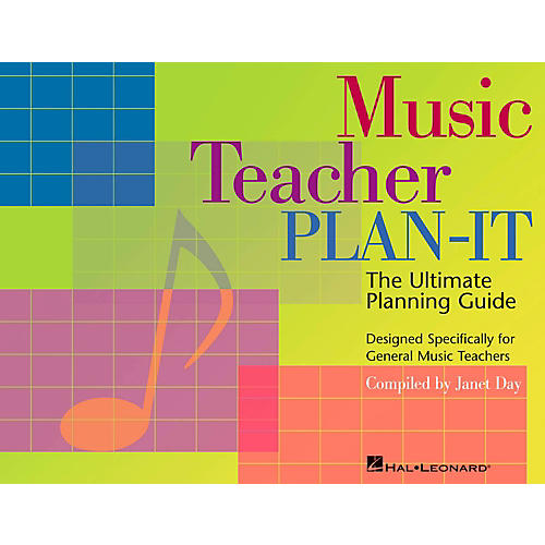 Hal Leonard Music Teacher Plan-It - The Ultimate Planning Guide-thumbnail
