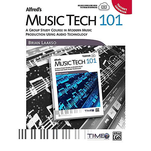 Alfred Music Tech 101 Teacher's Handbook-thumbnail