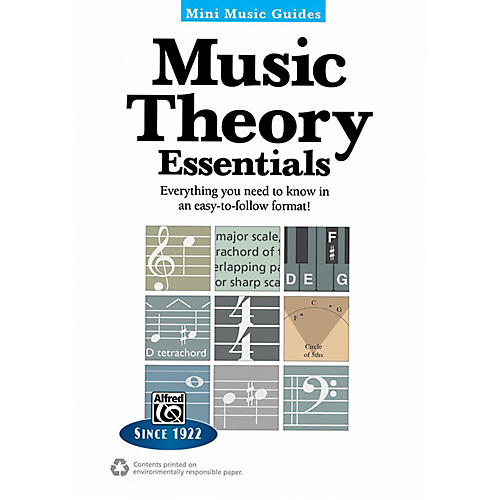 Alfred Music Theory Essentials Mini Music Guides Book-thumbnail