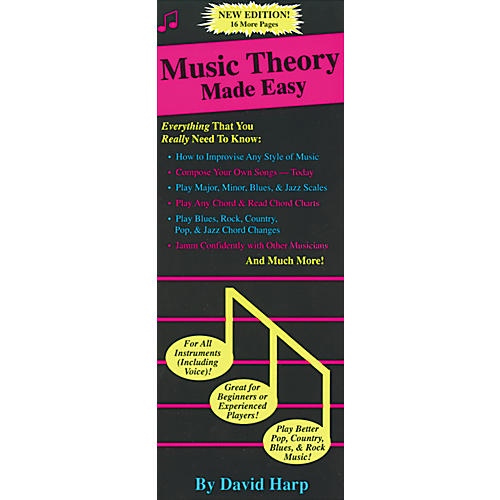 Music Sales Music Theory Made Easy Book-thumbnail