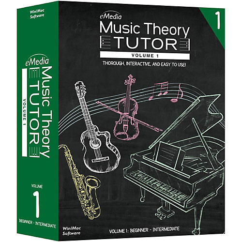 Emedia Music Theory Tutor Volume 1-thumbnail