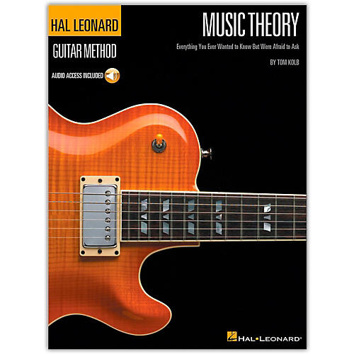 Hal Leonard Music Theory for Guitarists (Book and Online Audio Package)-thumbnail