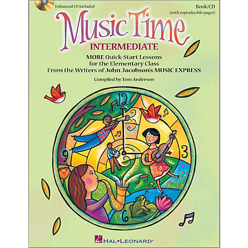 Hal Leonard Music Time:Intermediate - More Quick-Start Lessons for the Elementary Class Book/Enhanced CD-thumbnail