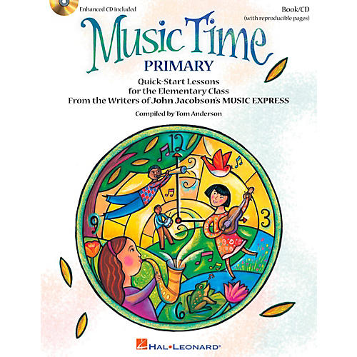 Hal Leonard Music Time:Primary - Quick Start Lessons for the Elementary Class Book/CD-thumbnail