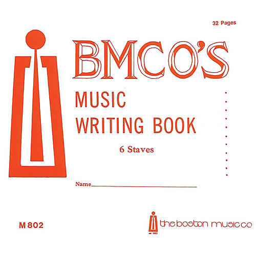 Music Sales Music Writing Book 6 Stave 32 P. Music Sales America Series