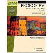 G. Schirmer Music for Children, Op. 65 Schirmer Performance Edition Book/CD By Prokofiev