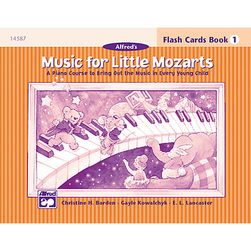 Alfred Music for Little Mozarts Flash Cards Level 1-thumbnail