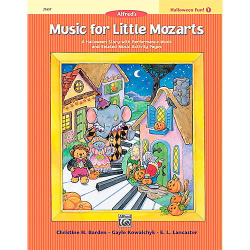 Alfred Music for Little Mozarts: Halloween Fun Book 1