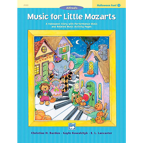 Alfred Music for Little Mozarts: Halloween Fun Book 3