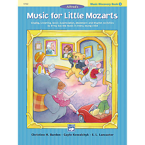 Alfred Music for Little Mozarts: Music Discovery Book 3-thumbnail