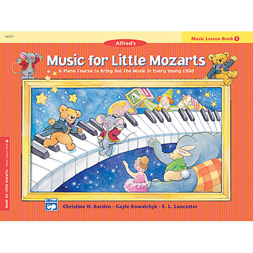 Alfred Music for Little Mozarts Music Lesson Book 1-thumbnail