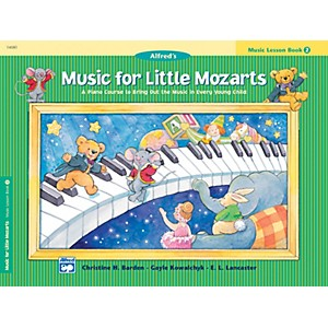 Alfred Music for Little Mozarts Music Lesson Book 2