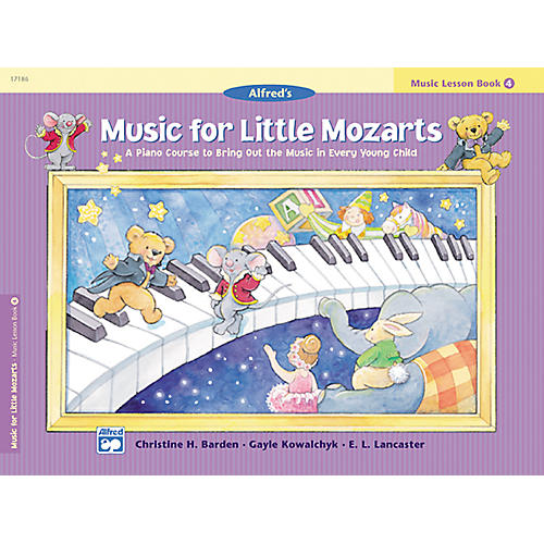 Alfred Music for Little Mozarts: Music Lesson Book 4