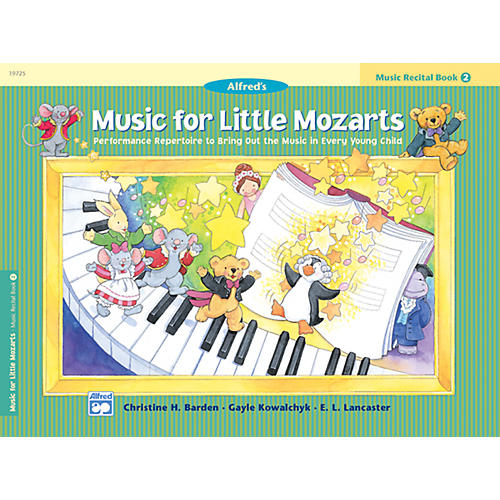 Alfred Music for Little Mozarts Music Recital Book 2-thumbnail