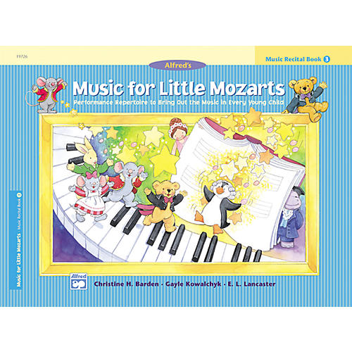 Alfred Music for Little Mozarts: Music Recital Book 3-thumbnail