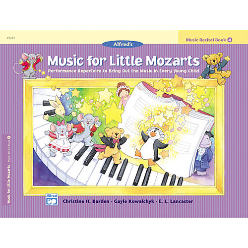 Alfred Music for Little Mozarts: Music Recital Book 4-thumbnail