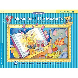 Alfred Music for Little Mozarts Music Workbook 3 Book 3