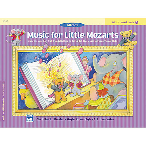 Alfred Music for Little Mozarts: Music Workbook 4-thumbnail