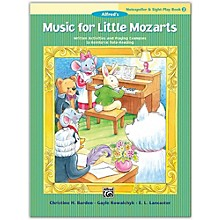 Alfred Music for Little Mozarts: Notespeller & Sight-Play Book 2