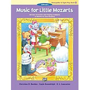 Alfred Music for Little Mozarts: Notespeller & Sight-Play Book 4 Early Elementary