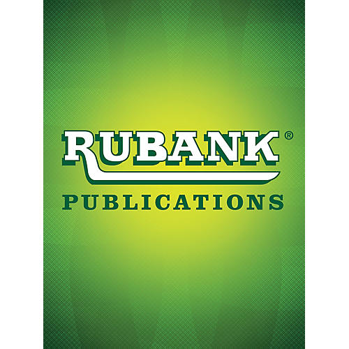 Rubank Publications Music for Marimba - Volume I Rubank Solo Collection Series Softcover