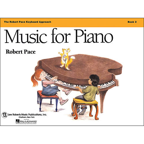 Hal Leonard Music for Piano - Book 2 Revised, Robert Pace Keyboard-thumbnail