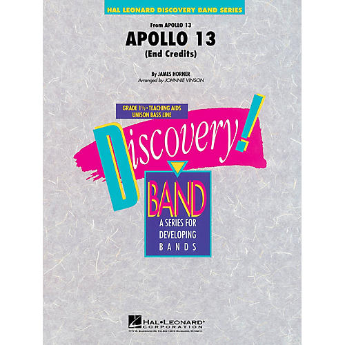 Hal Leonard Music from Apollo 13 Concert Band Level 1.5 Arranged by Johnnie Vinson-thumbnail