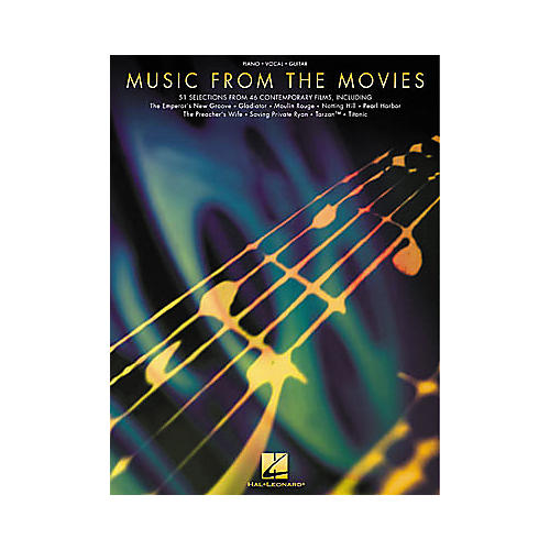 Hal Leonard Music from the Movies Piano, Vocal, Guitar Songbook-thumbnail