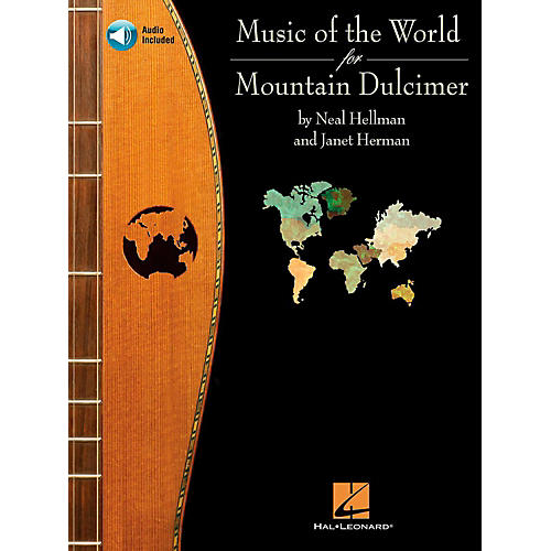Hal Leonard Music of the World for Mountain Dulcimer Book/CD-thumbnail