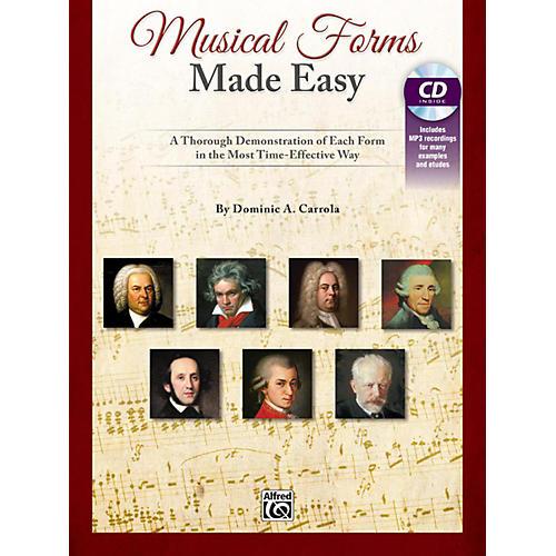 Alfred Musical Forms Made Easy A Thorough Demonstration of Each Form in the Most Time Effective Way Bk & CD-thumbnail
