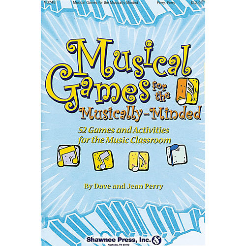 Shawnee Press Musical Games for the Musically-Minded music activities & puzzles