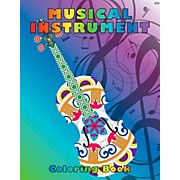 Hal Leonard Musical Instrument Coloring Book