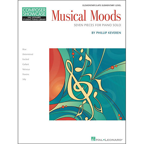 Hal Leonard Musical Moods Elementary/Late Elementary Level Composer Showcase Hal Leonard Student Piano Library by Phillip Keveren-thumbnail